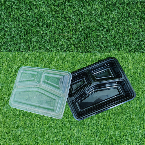 Combo Meal Packaging Tray