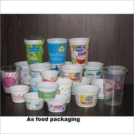 Printed Plastic Food Container