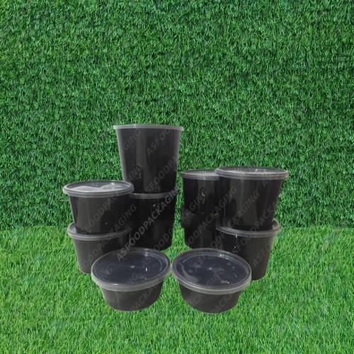 Black Colour Disposable Container