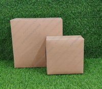 Brown Cake Box