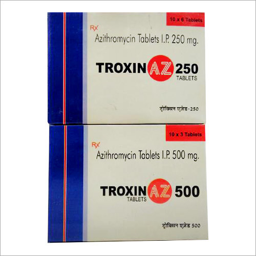 Azithromycin Tablets I.P. 250 MG
