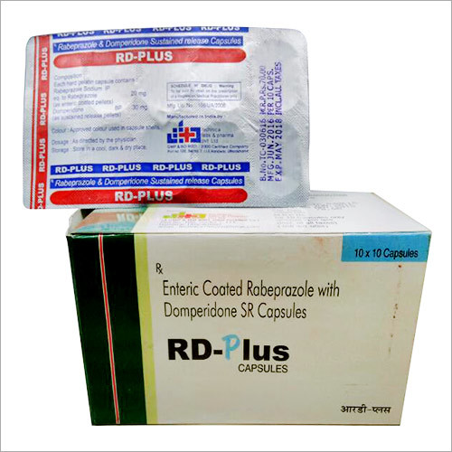 Enteric Coated Rabeprazole with Domperidone  Capsu