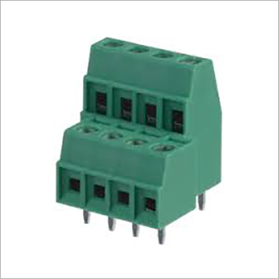 Terminal Block Green Double Decker
