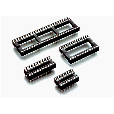 Screw Machine Pin IC Socket PFA PGA Socket