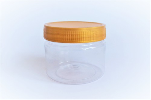 Cream Plastic Jar