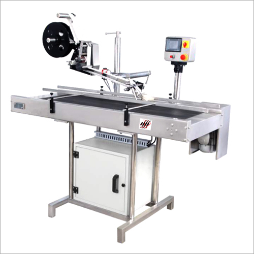 Automatic Top- Bottom Labeling Machine