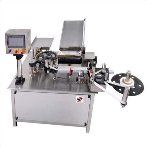 Auto. Ampoule-Vial Rotary Sticker Labeling Machine