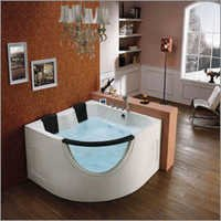 Corner Twin Seater Whirlpool Bathtub