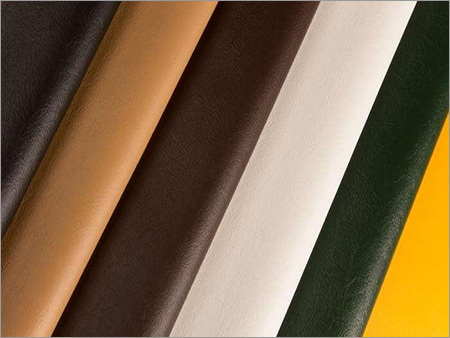 Plain Artificial Leather Fabric