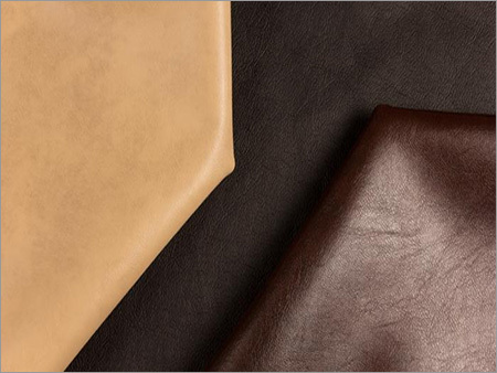 PVC Plain Leather Fabric