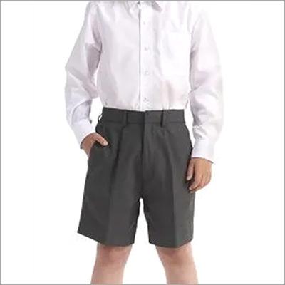 Grey School Boys Shorts