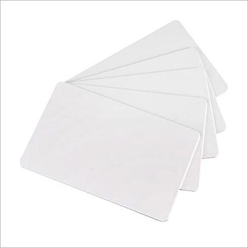 PVC White Blank Card