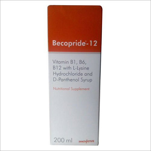 Becopride 12 Nutritional Supplement