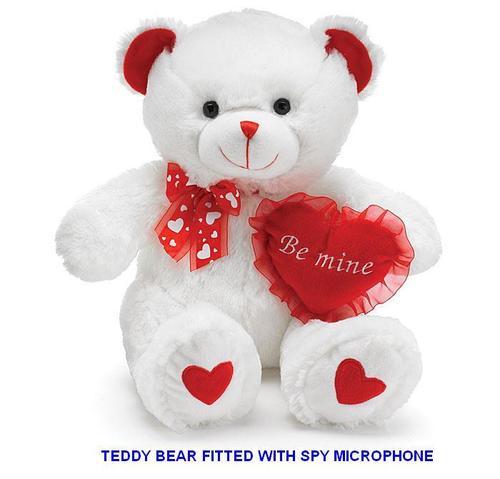 SPY GSM MICROPHONE IN TEDDY BEAR