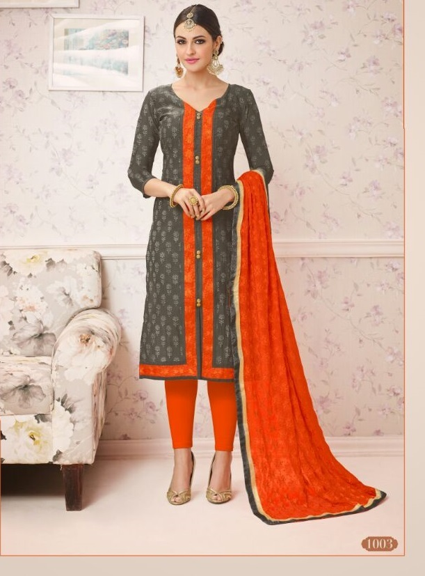Chanderi salwar suits