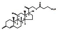 Hydrocortisone hemisuccinate