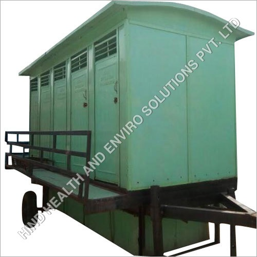Ten Seater Regular Premium Mobile Toilet