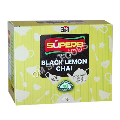 Black Lemon Tea 15 gm 10 Pack carton