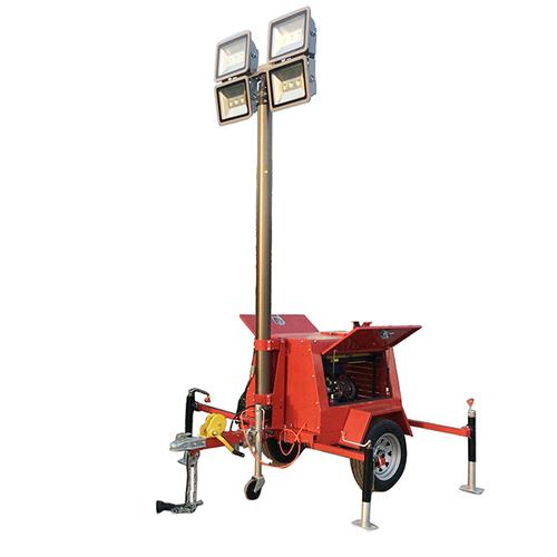 LED Mobile Light Tower