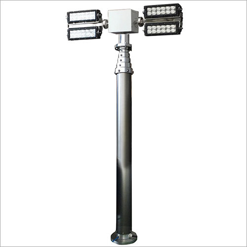 Fire Truck Mount LED Telescopic Light Mast