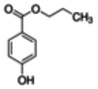 Propyl parahydroxybenzoate