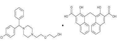 Hydroxyzine pamoate salt