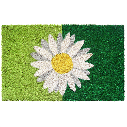 Flower Printed Door Mats