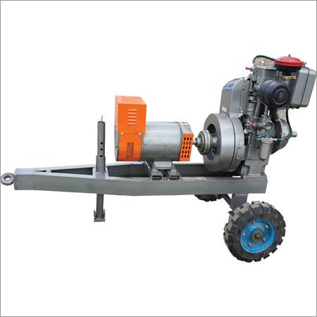 Single Cylinder Air Cooled Welding Gen Set