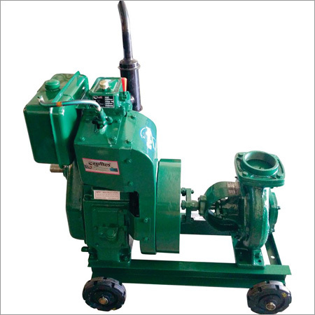 Single Cylinder Electric Start Axial Air Cooled DG Set