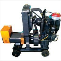 Two Cylinder Electric Start Axial Air Diesel Engine