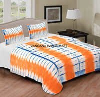 Printed Bedsheets Tie Dye Cotton Bed Sheet