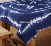 Designer Hand Block Printed Cotton Table Cover