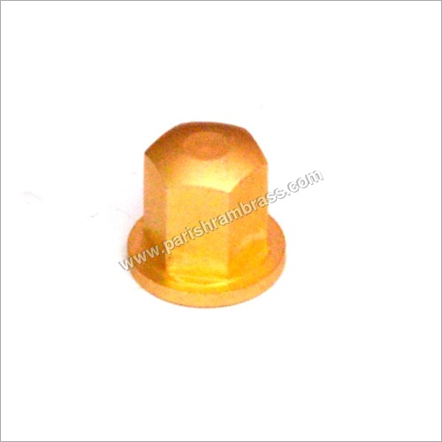 Brass Cap Hex Nut