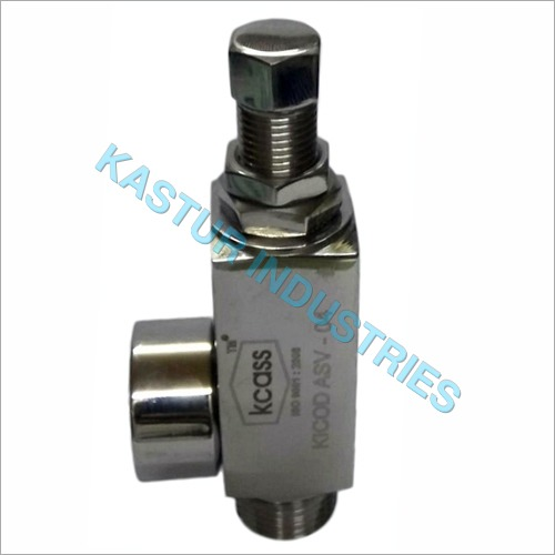 Screwed End Angle Type Safety Valve