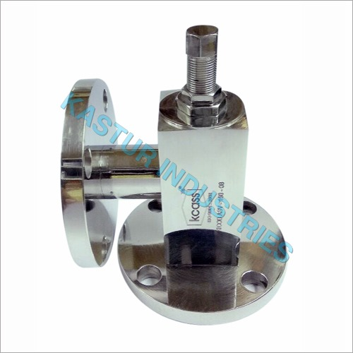Safety Valve Angle Type Flange End SS