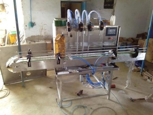 Automatic Servo PLC Base Filling Machine