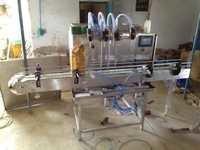 Automatic Servo PLC Base Filling Machine