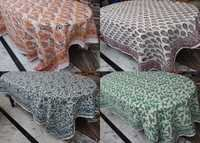 Cotton Hand Block Printed Table Cover