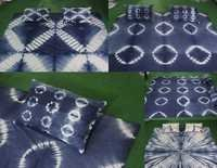 Cotton Printed Sebhori Tie Dye Fabric