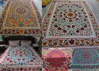 Suzani Embroidered Bed Cover