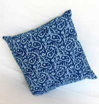 Block Print Cushion