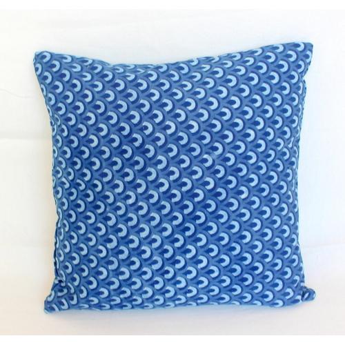India Block Printed Cushion