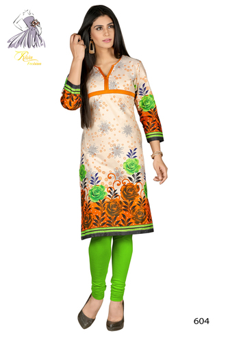 Untiched Cotton Kurti