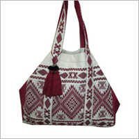 Women Shoulder Bag with crafted Dari