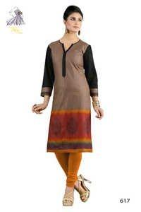 Multicolor Designer Cotton Kurti