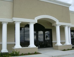 Fiberglass Columns