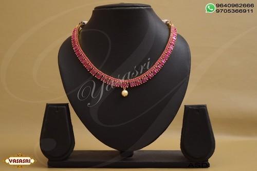 Cz Ladies Necklace