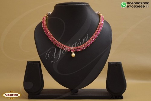 Cz Ladies Necklace