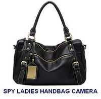 SPY HIDDEN SECRET CAMERA IN LADIES HANDBAG