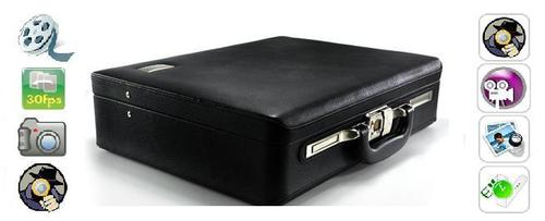 SPY CAMERA IN BRIEFCASE